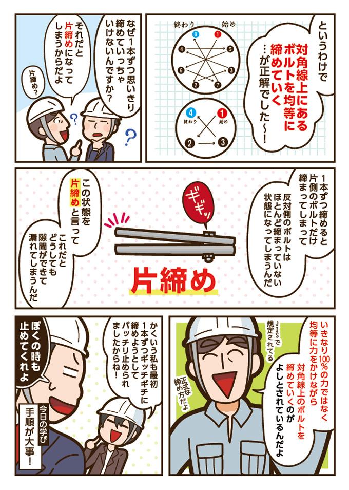27話「フランジの締付け方法」02